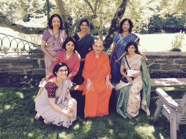 Swami Viditatmananda June 2015